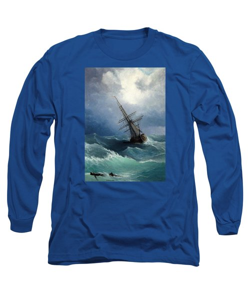Storm Long Sleeve T-Shirt by Mikhail Savchenko
