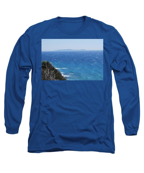 Long Sleeve T-Shirt featuring the photograph Strong Mistral by George Katechis