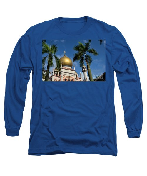 Sultan Masjid Mosque Singapore Long Sleeve T-Shirt