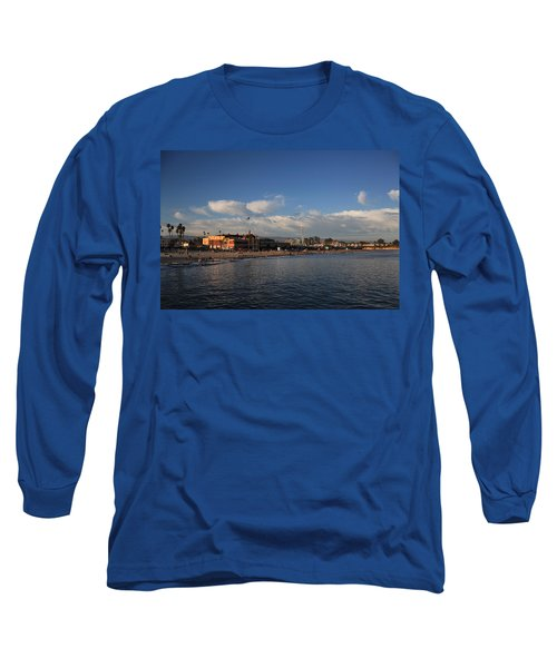 Summer Evenings In Santa Cruz Long Sleeve T-Shirt