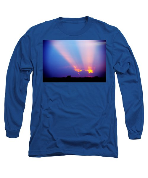 Sun Rays At Sunset Long Sleeve T-Shirt