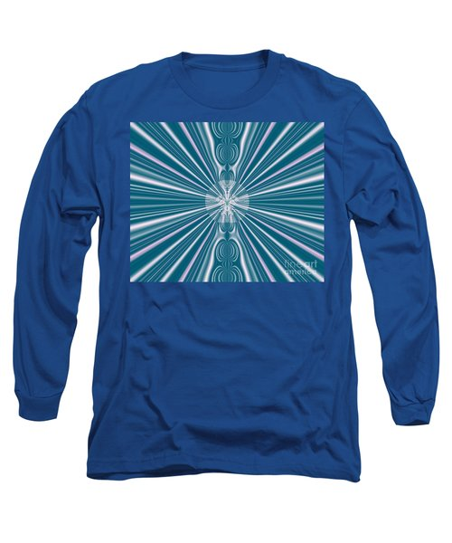 Long Sleeve T-Shirt featuring the digital art Sunburst In The Rain by Luther Fine Art