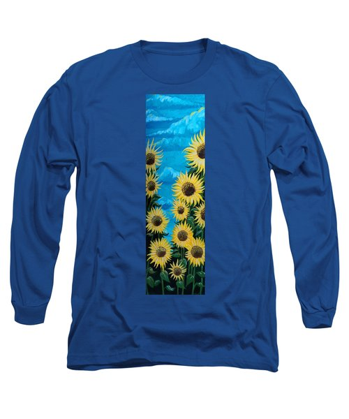 Sunflower Fun Long Sleeve T-Shirt