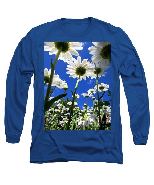 Sunny Side Up Long Sleeve T-Shirt by Pamela Clements