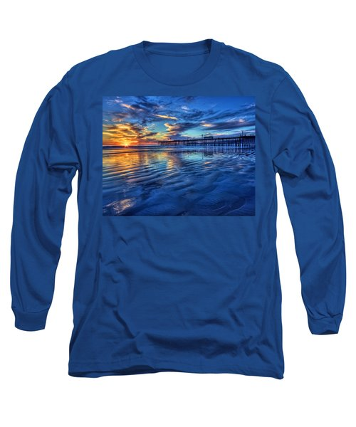 Sunset In Blue Long Sleeve T-Shirt