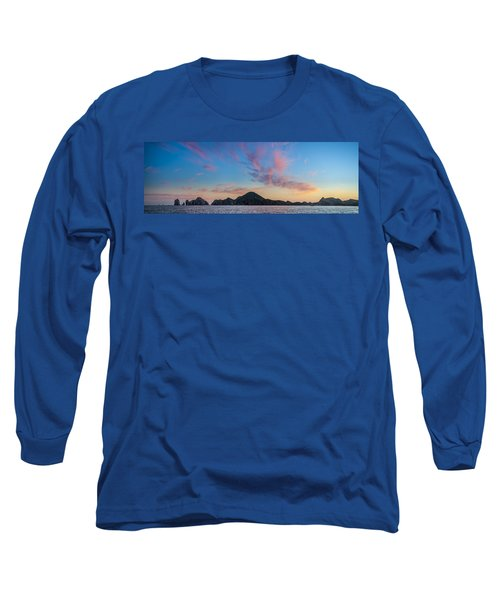 Long Sleeve T-Shirt featuring the photograph Sunset Over Cabo by Sebastian Musial