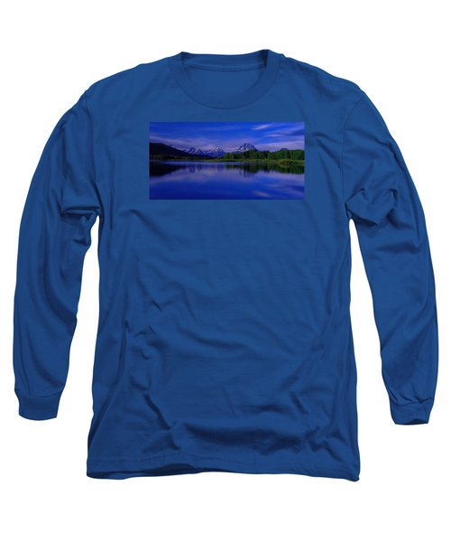 Super Moon Long Sleeve T-Shirt by Chad Dutson