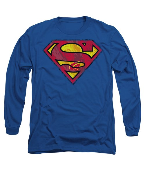 Superman - Action Shield Long Sleeve T-Shirt