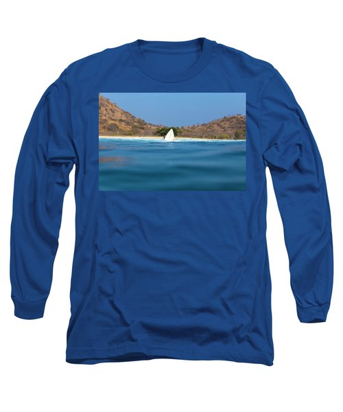 Surfing In West Sumbawa.indonesia Long Sleeve T-Shirt