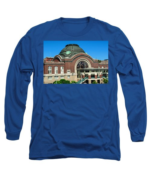Tacoma Court House At Union Station Long Sleeve T-Shirt