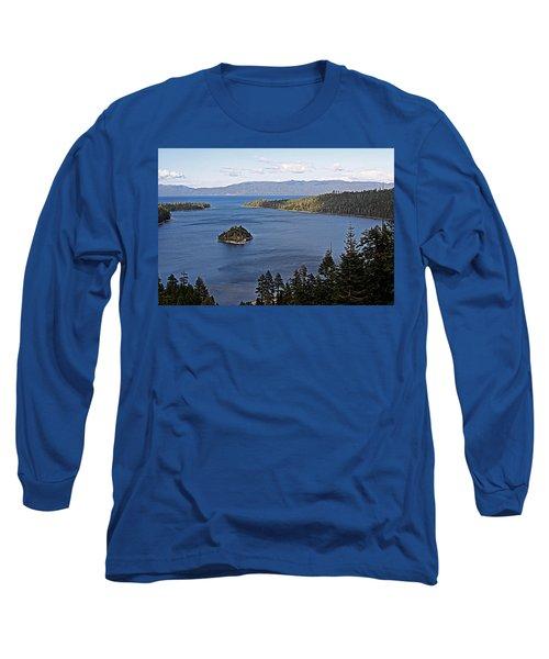 Lake Tahoe's Emerald Bay Long Sleeve T-Shirt