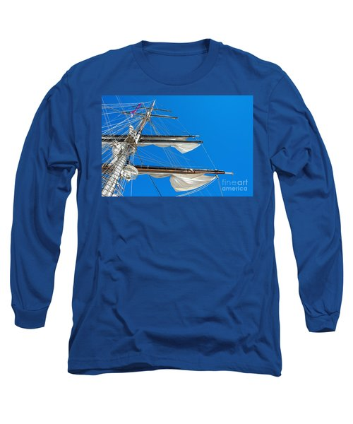 Tall Ship Yards Long Sleeve T-Shirt