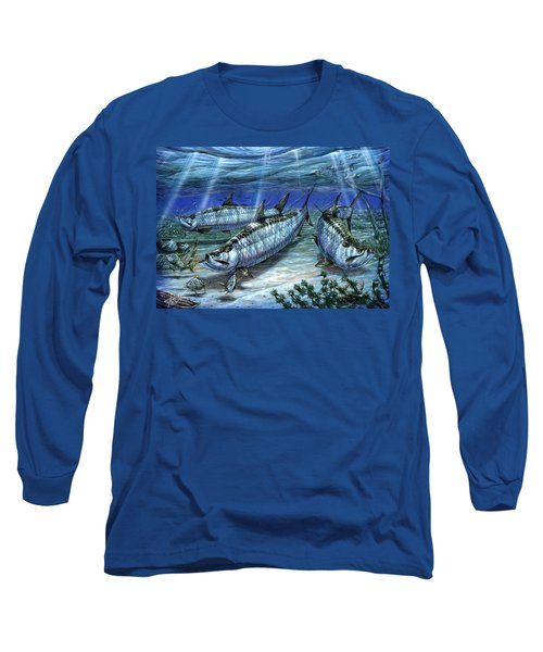 Tarpon In Paradise - Sabalo Long Sleeve T-Shirt