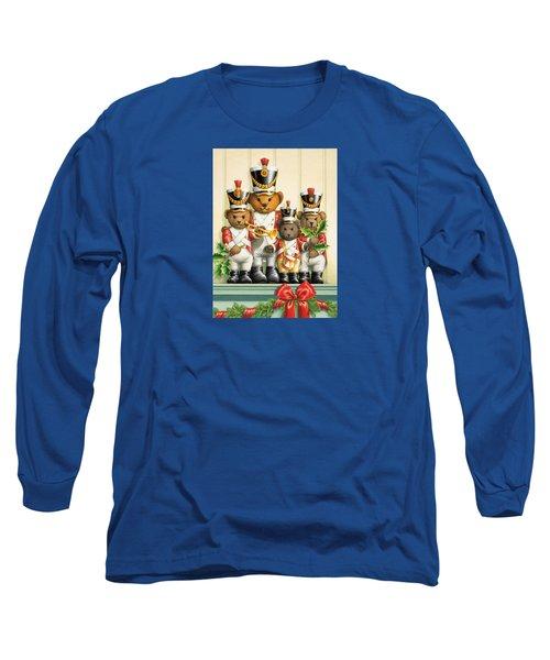 Teddy Bear Band Long Sleeve T-Shirt