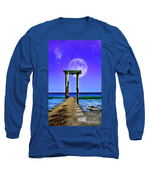 Temple Of The Atlantic Long Sleeve T-Shirt