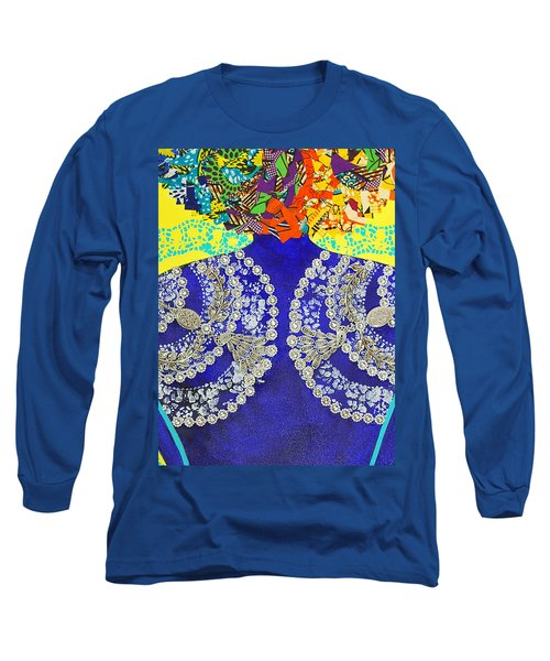 Temple Of The Goddess Eye Vol 3 Long Sleeve T-Shirt by Apanaki Temitayo M