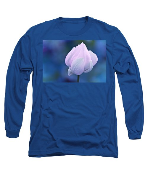 Tender Morning With Lotus Long Sleeve T-Shirt