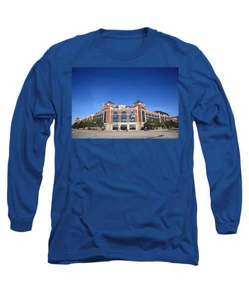 Texas Rangers Ballpark In Arlington Long Sleeve T-Shirt