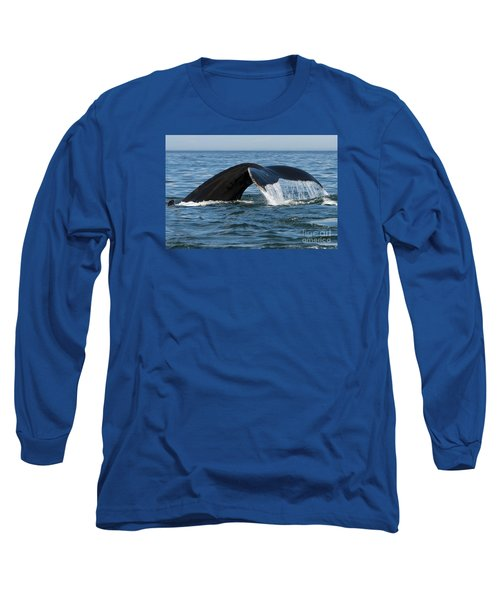 The Big Blue In The Bigger Blues... Long Sleeve T-Shirt