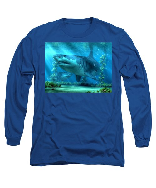 The Biggest Shark Long Sleeve T-Shirt
