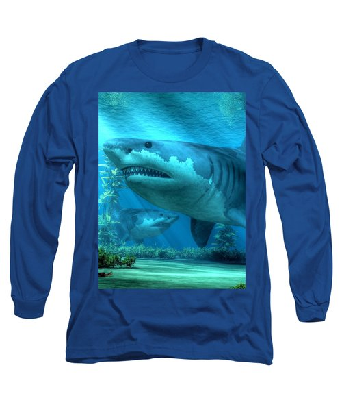 The Biggest Shark Long Sleeve T-Shirt