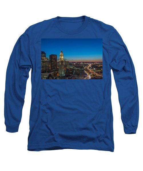 The Blue Begins Long Sleeve T-Shirt