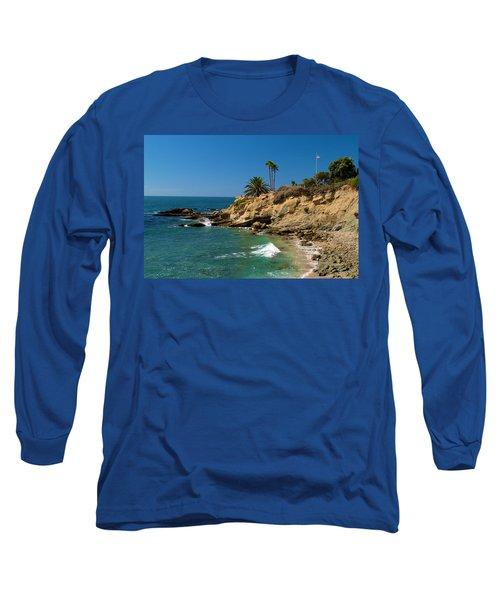 The Flag Long Sleeve T-Shirt by Richard J Cassato