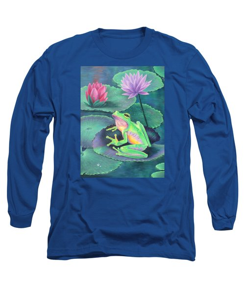 The Frog Long Sleeve T-Shirt by Vivien Rhyan