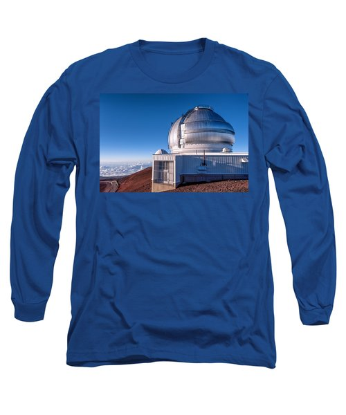 Long Sleeve T-Shirt featuring the photograph The Gemini Observatory by Jim Thompson