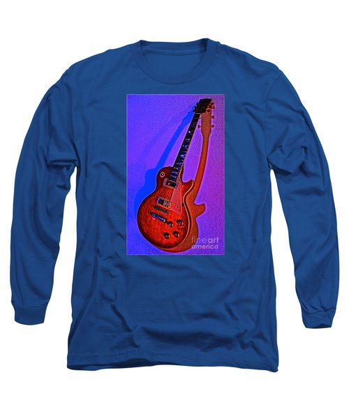 The Guitar After Party Long Sleeve T-Shirt by Gem S Visionary