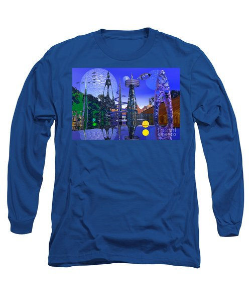 The Mechanical Wonder Long Sleeve T-Shirt by Mark Blauhoefer