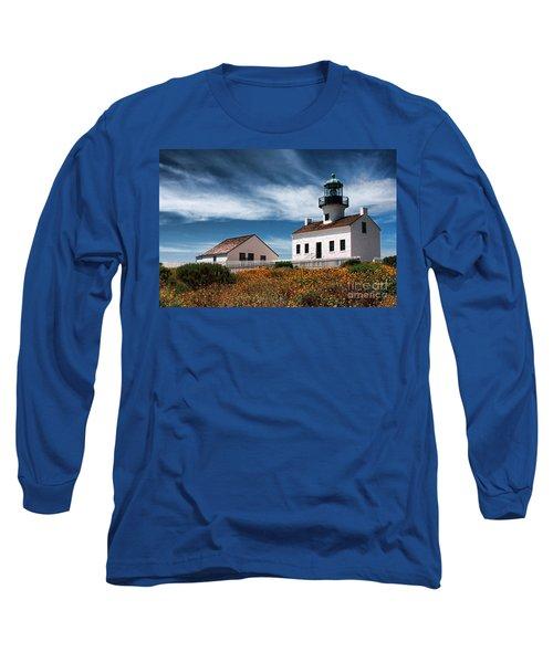 The Old Point Loma Lighthouse By Diana Sainz Long Sleeve T-Shirt