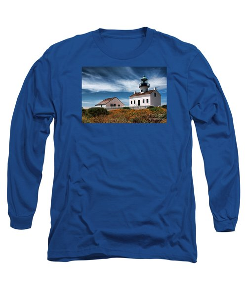 The Old Point Loma Lighthouse By Diana Sainz Long Sleeve T-Shirt