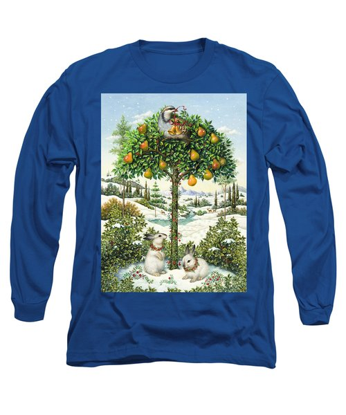 The Partridge In A Pear Tree Long Sleeve T-Shirt