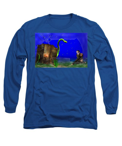 The Scent Of The Girl  Long Sleeve T-Shirt by Liane Wright