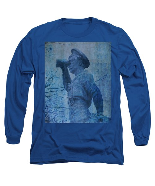 The Seaman In Blue Long Sleeve T-Shirt