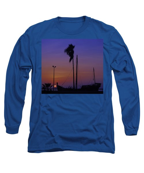 Long Sleeve T-Shirt featuring the photograph The Ship by Leticia Latocki