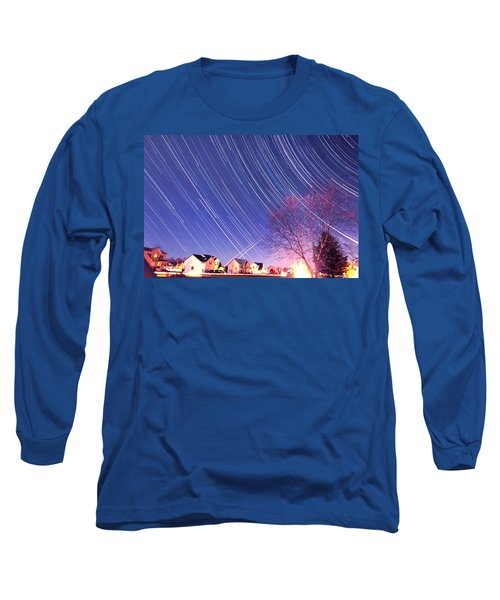 The Star Trails Long Sleeve T-Shirt by Paul Ge