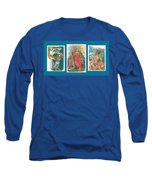 The Strength Tryptic Long Sleeve T-Shirt
