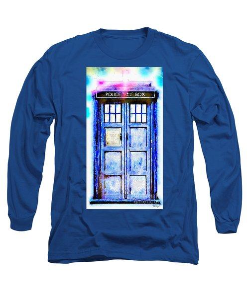 The Tardis Long Sleeve T-Shirt