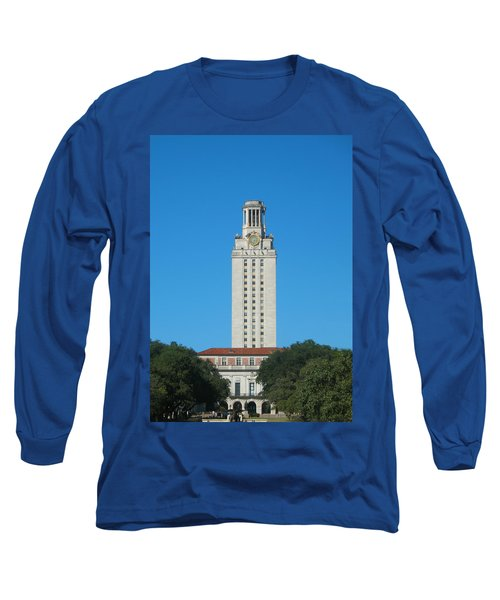 The University Of Texas Tower Long Sleeve T-Shirt