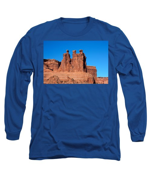 Long Sleeve T-Shirt featuring the photograph The Watchers by John M Bailey