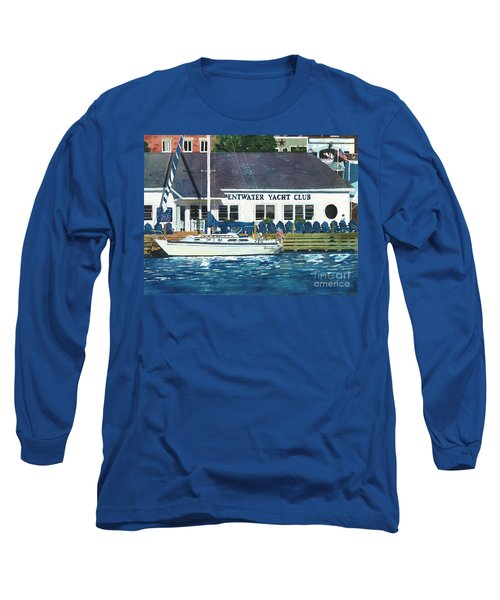 The Yacht Club Long Sleeve T-Shirt by LeAnne Sowa