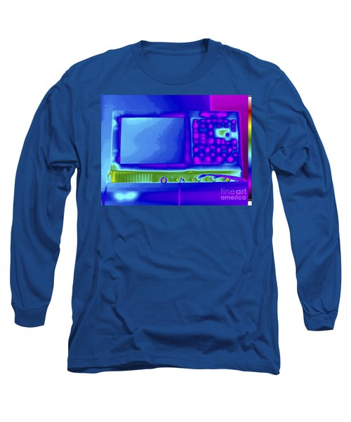 Thermogram Of An Oscilloscope Long Sleeve T-Shirt