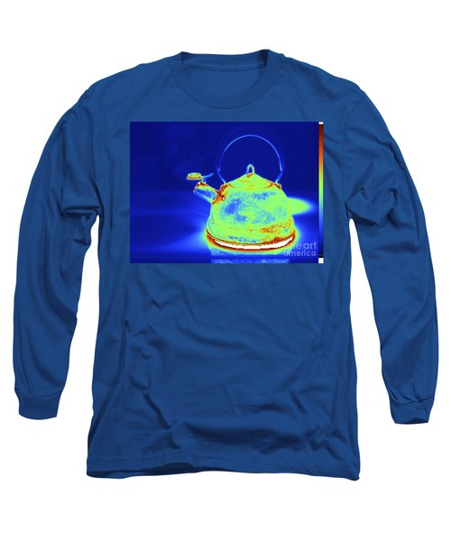 Thermogram Of Kettle Boiling Long Sleeve T-Shirt