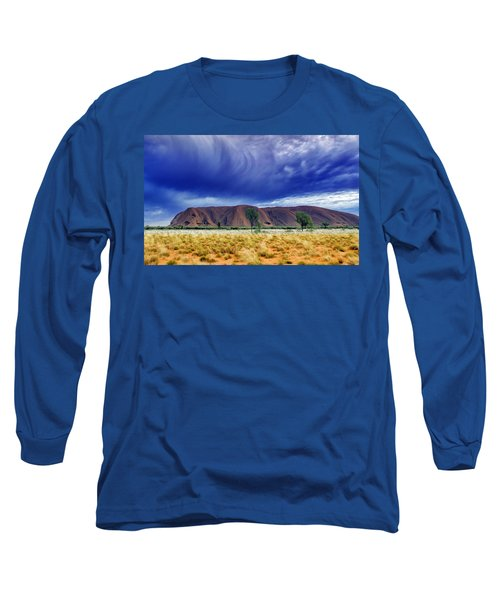 Long Sleeve T-Shirt featuring the photograph Thunder Rock by Holly Kempe