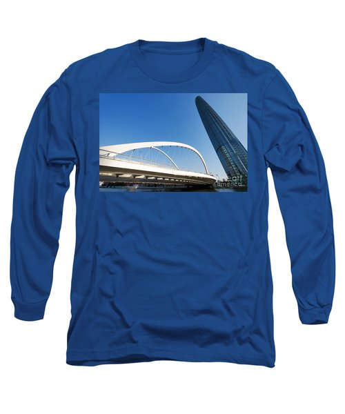 Tianjin City Long Sleeve T-Shirt by Yew Kwang