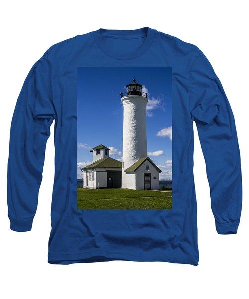 Tibbetts Point Lighthouse Long Sleeve T-Shirt by Ben and Raisa Gertsberg