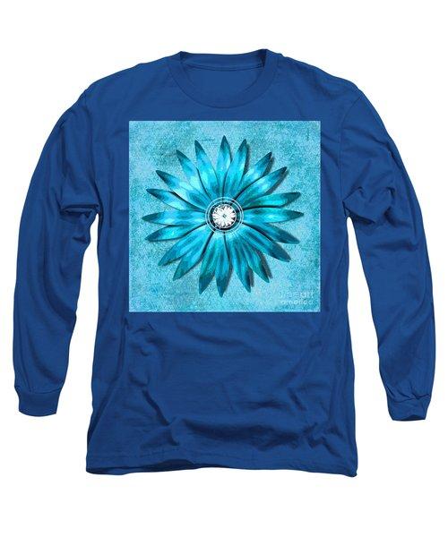 Tiffany Blue And Diamonds Too Long Sleeve T-Shirt