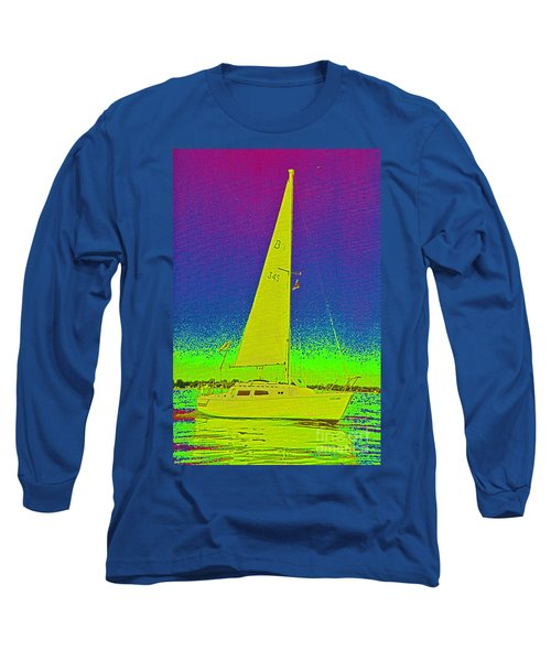 Tom Ray's Sailboat Long Sleeve T-Shirt
